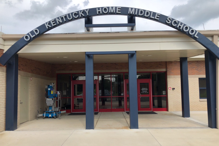 Old Kentucky Home Middle School Exterior